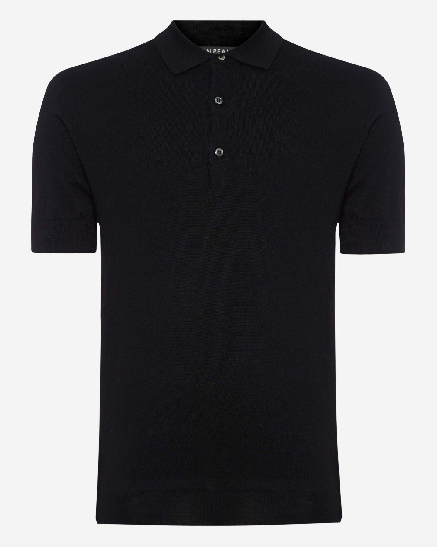 mens black polo shirts